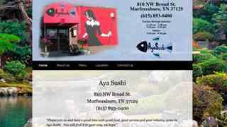 Aya Sushi Restaurant - Murfreesboro, TN